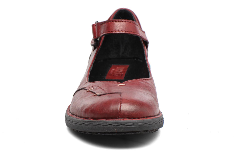 Ballerines Khrio Imul Rouge vue portées chaussures