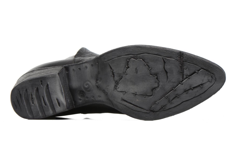 Bottines et boots Khrio Silcil Noir vue haut