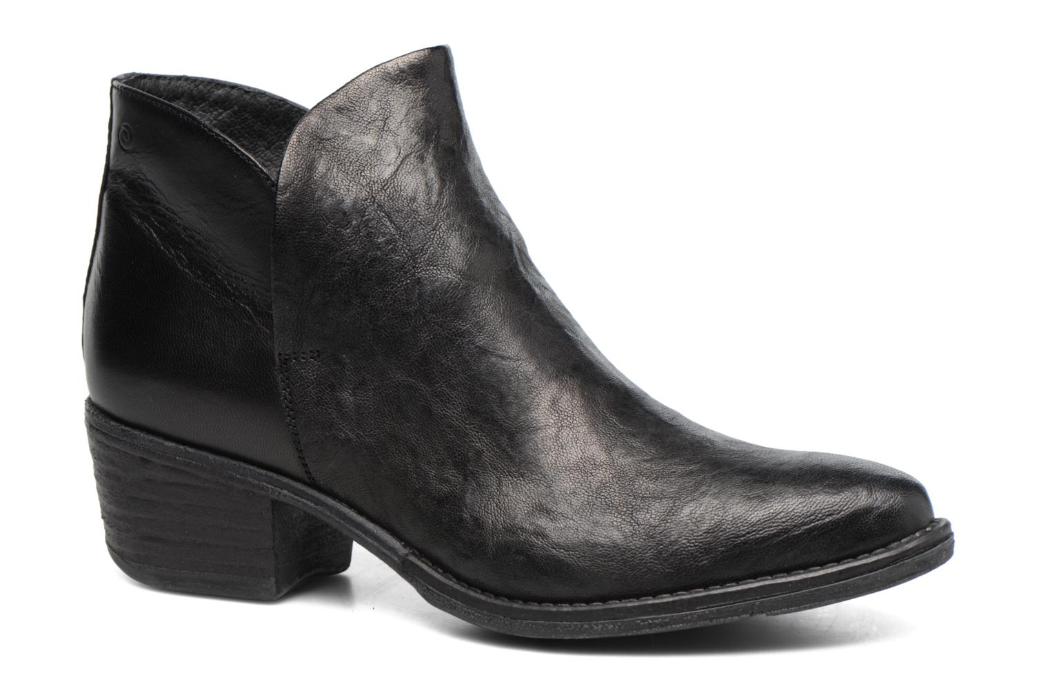 Ankle boots Khrio Silcil Black detailed view/ Pair view