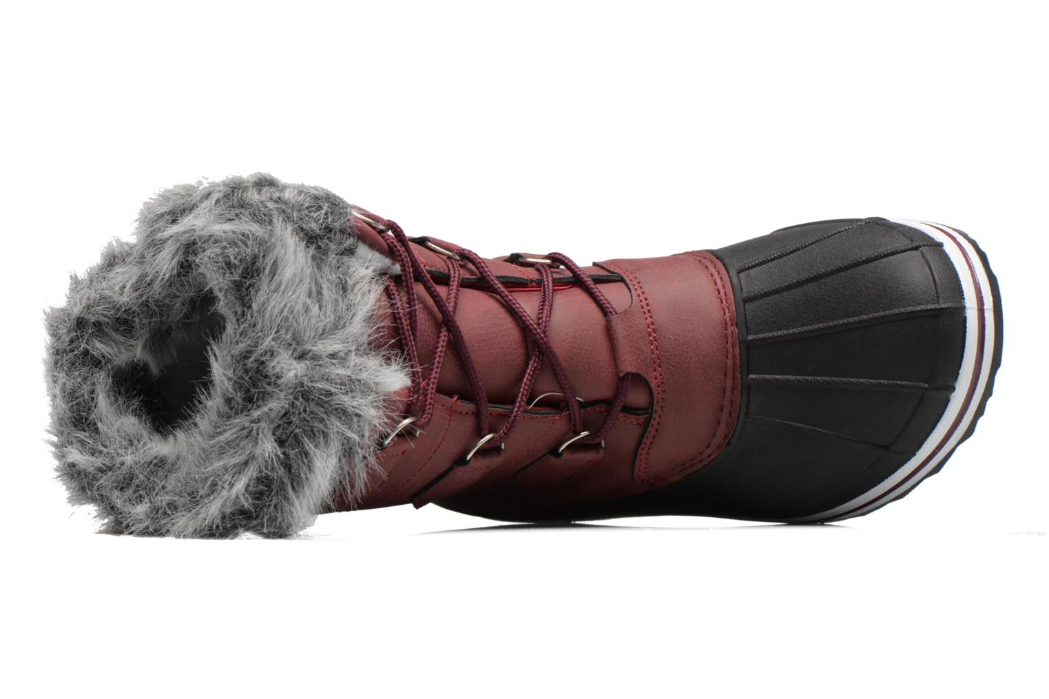 Sport shoes Kimberfeel Adriana 2 Burgundy view from the left