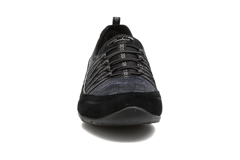 Sneaker Skechers Unity Eternal Bliss schwarz schuhe getragen