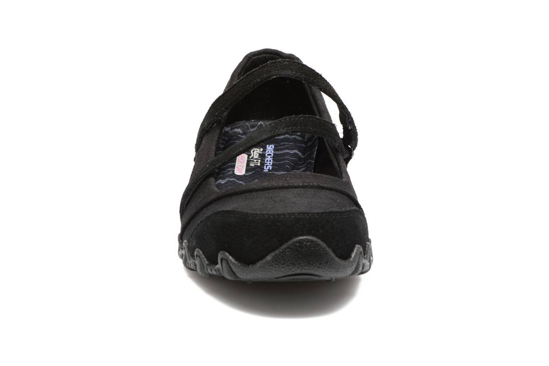Ballerinas Skechers Go step lite quaint schwarz schuhe getragen