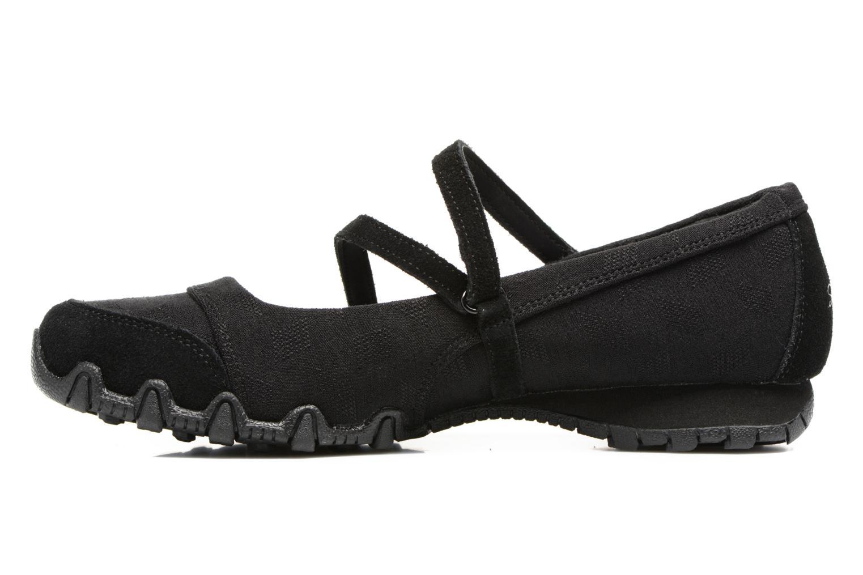 Ballerinas Skechers Go step lite quaint schwarz ansicht von vorne