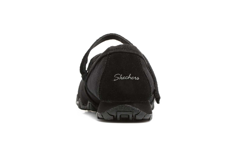 Bailarinas Skechers Go step lite quaint Negro vista lateral derecha