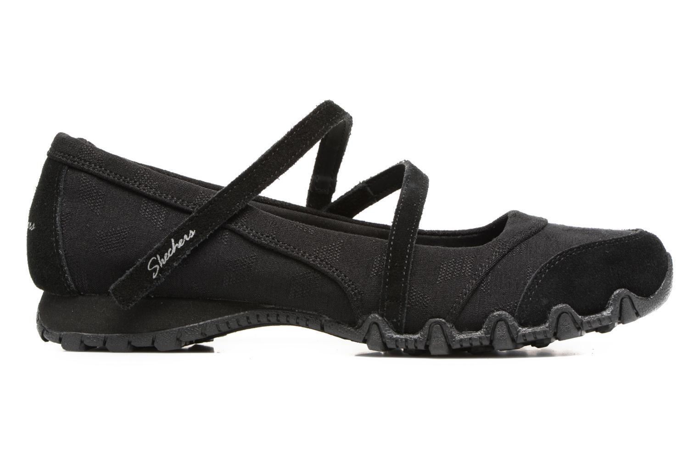 Ballerinas Skechers Go step lite quaint schwarz ansicht von hinten