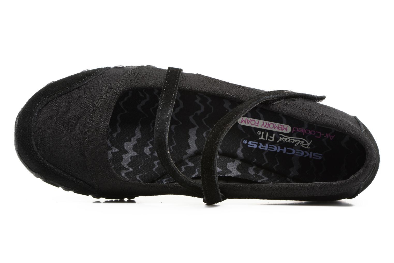 Bailarinas Skechers Go step lite quaint Negro vista lateral izquierda
