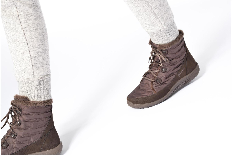 Stiefeletten & Boots Skechers Reggae Fest Vector schwarz ansicht von unten / tasche getragen