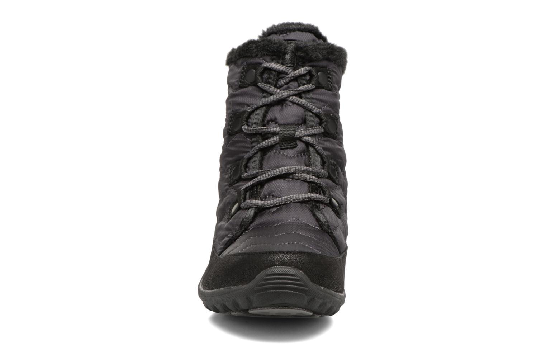 Boots Skechers Reggae Fest Vector Svart bild av skorna på