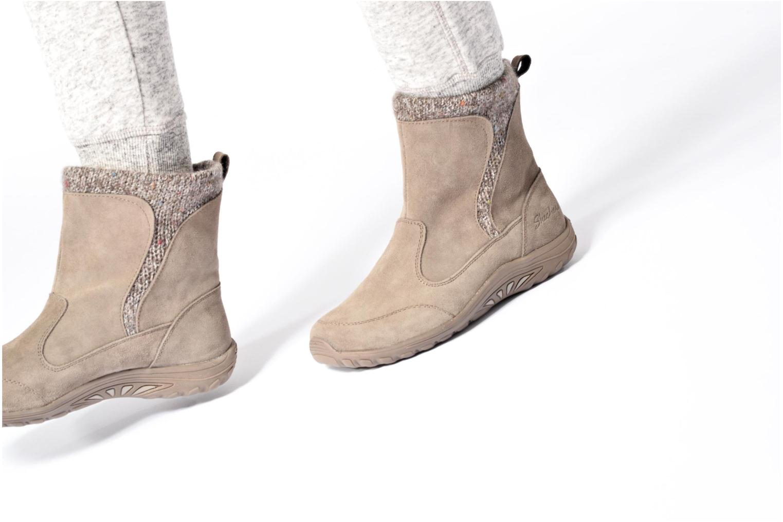 Boots en enkellaarsjes Skechers Reggae Fest Folksy Zwart onder