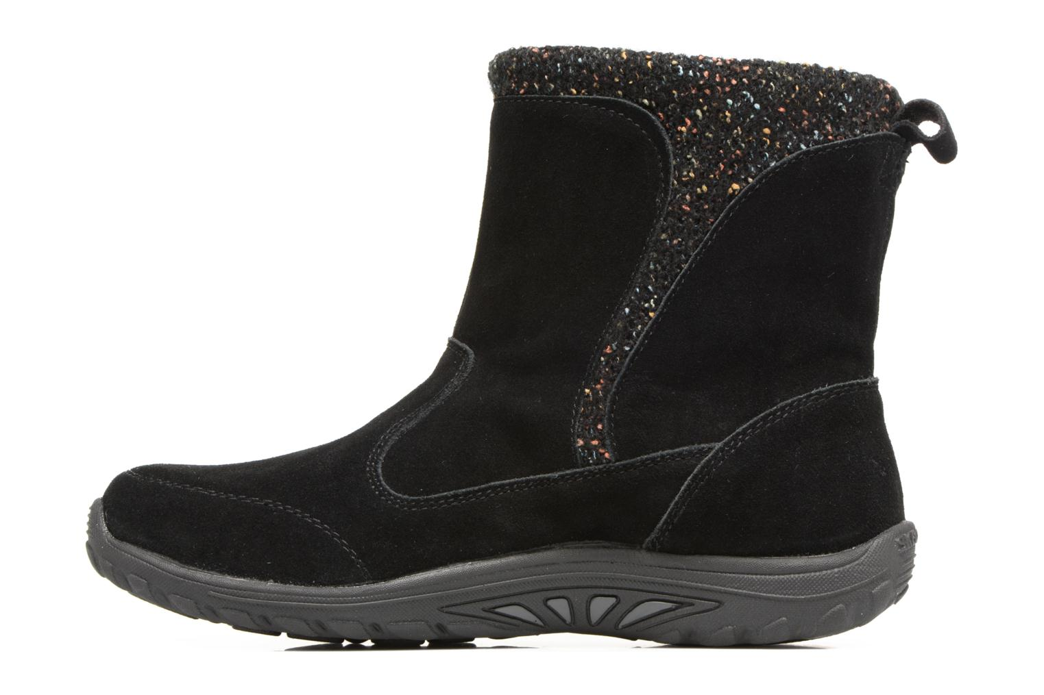 Ankle boots Skechers Reggae Fest Folksy Black front view
