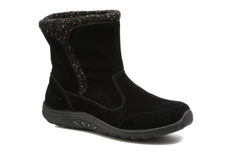 Boots en enkellaarsjes Skechers Reggae Fest Folksy Zwart detail