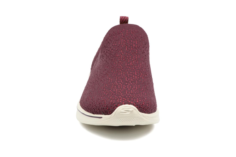 Chaussures de sport Skechers Go walk 4 gifted Bordeaux vue portées chaussures