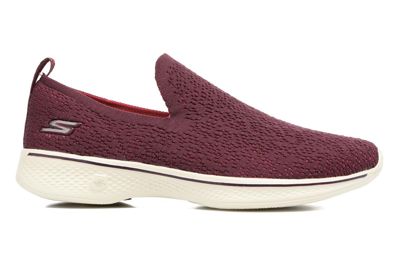 Chaussures de sport Skechers Go walk 4 gifted Bordeaux vue derrière