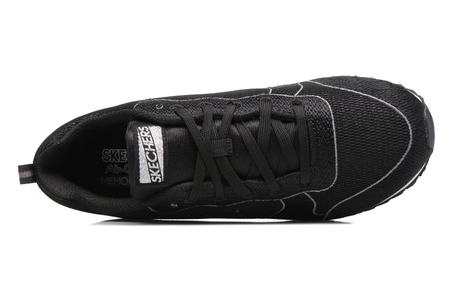 Trainers Skechers OG 84 Black view from the left