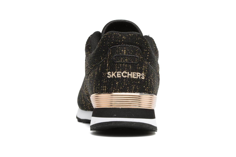 Sneaker Skechers OG 85 Low Flyers schwarz ansicht von rechts