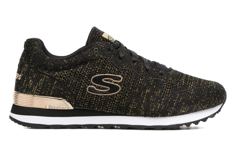 Sneaker Skechers OG 85 Low Flyers schwarz ansicht von hinten