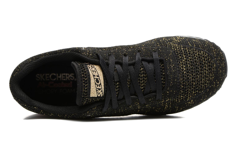 Sneaker Skechers OG 85 Low Flyers schwarz ansicht von links
