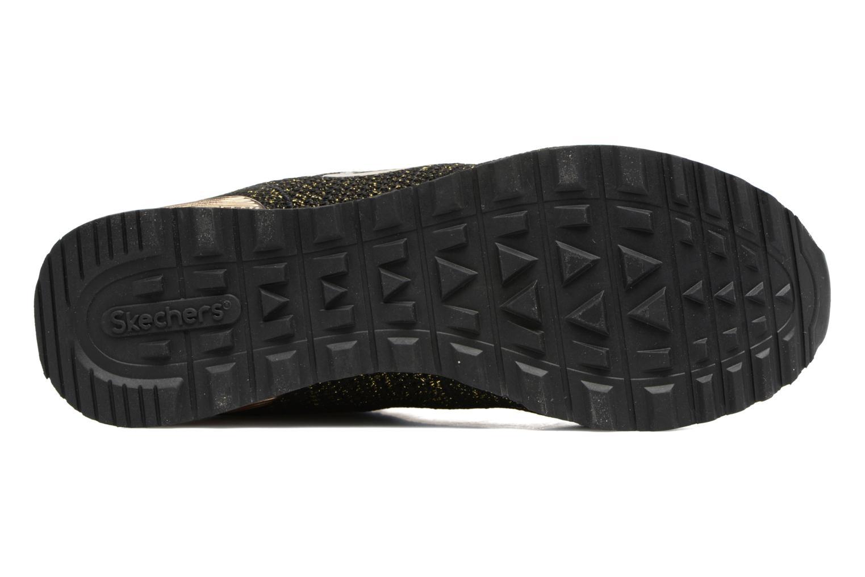 Sneaker Skechers OG 85 Low Flyers schwarz ansicht von oben