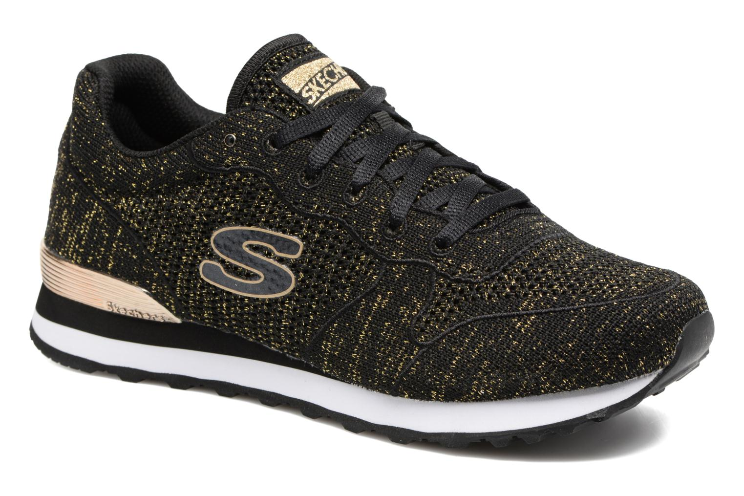 Trainers Skechers OG 85 Low Flyers Black detailed view/ Pair view