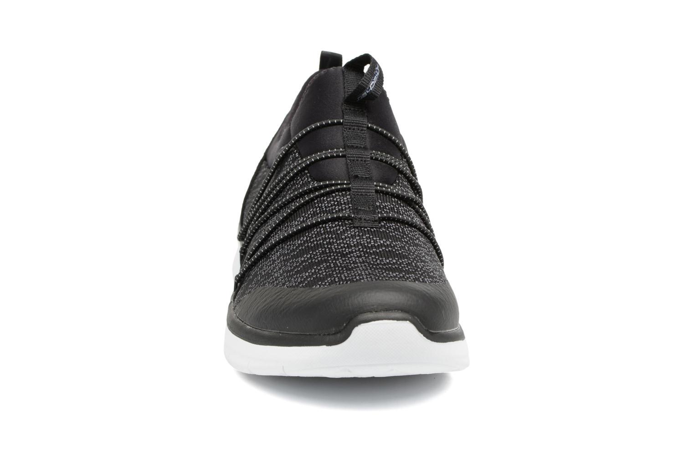 Sportschuhe Skechers Synergy 2.0 Simply Chic schwarz schuhe getragen
