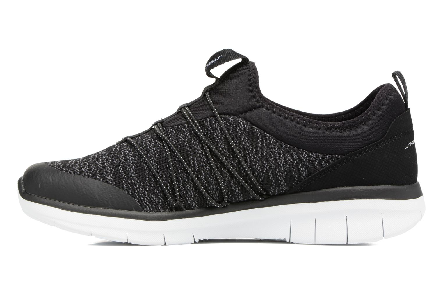 Sport shoes Skechers Synergy 2,0 Simply Chic Black front view