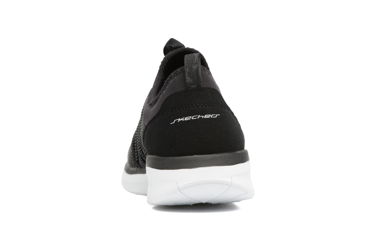 Sport shoes Skechers Synergy 2,0 Simply Chic Black view from the right