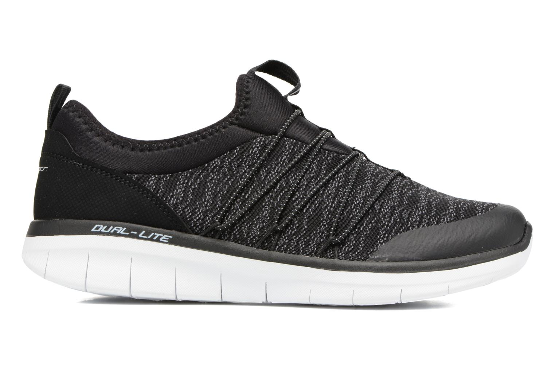 Sportschoenen Skechers Synergy 2.0 Simply Chic Zwart achterkant