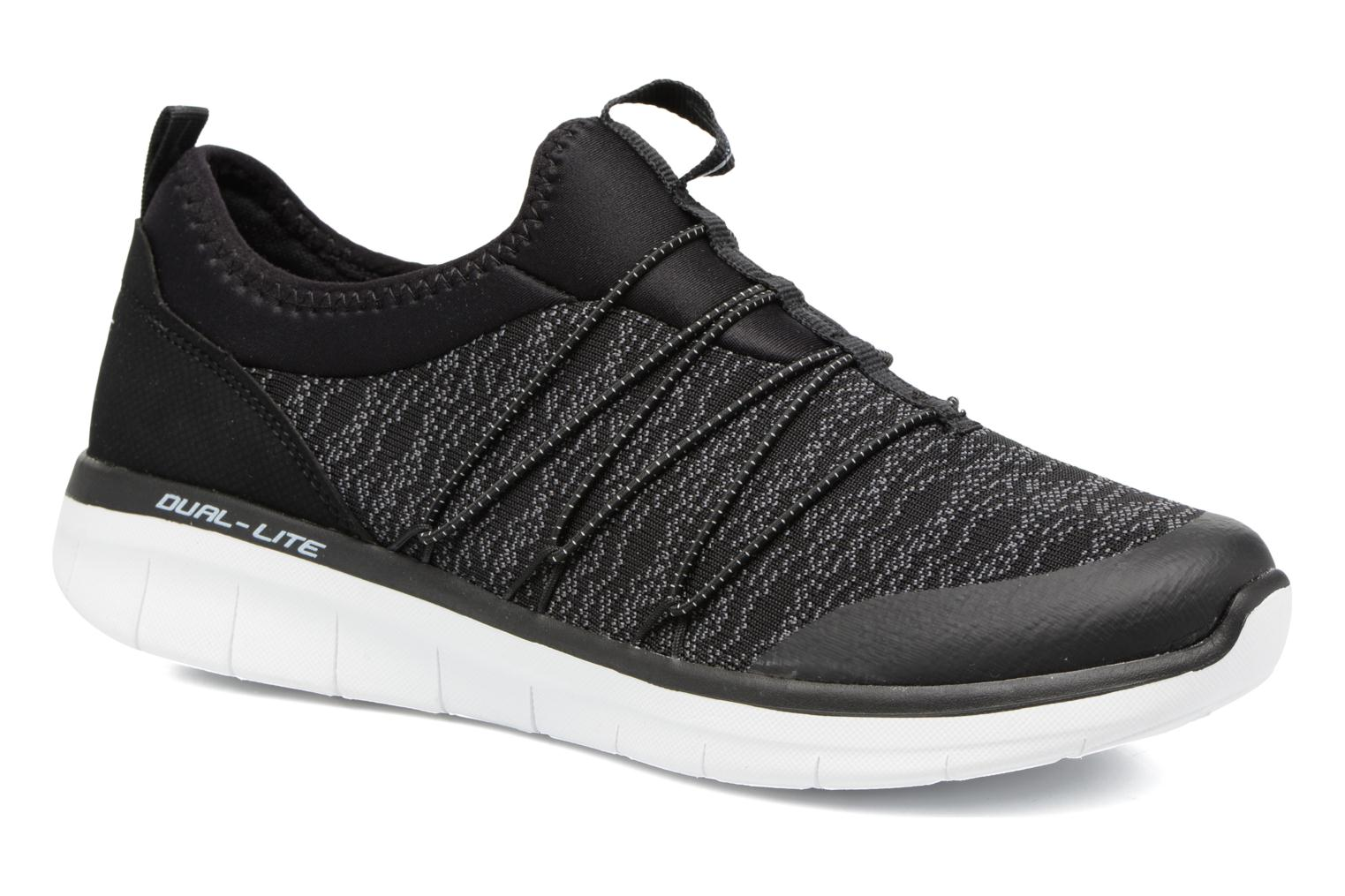 Sport shoes Skechers Synergy 2,0 Simply Chic Black detailed view/ Pair view