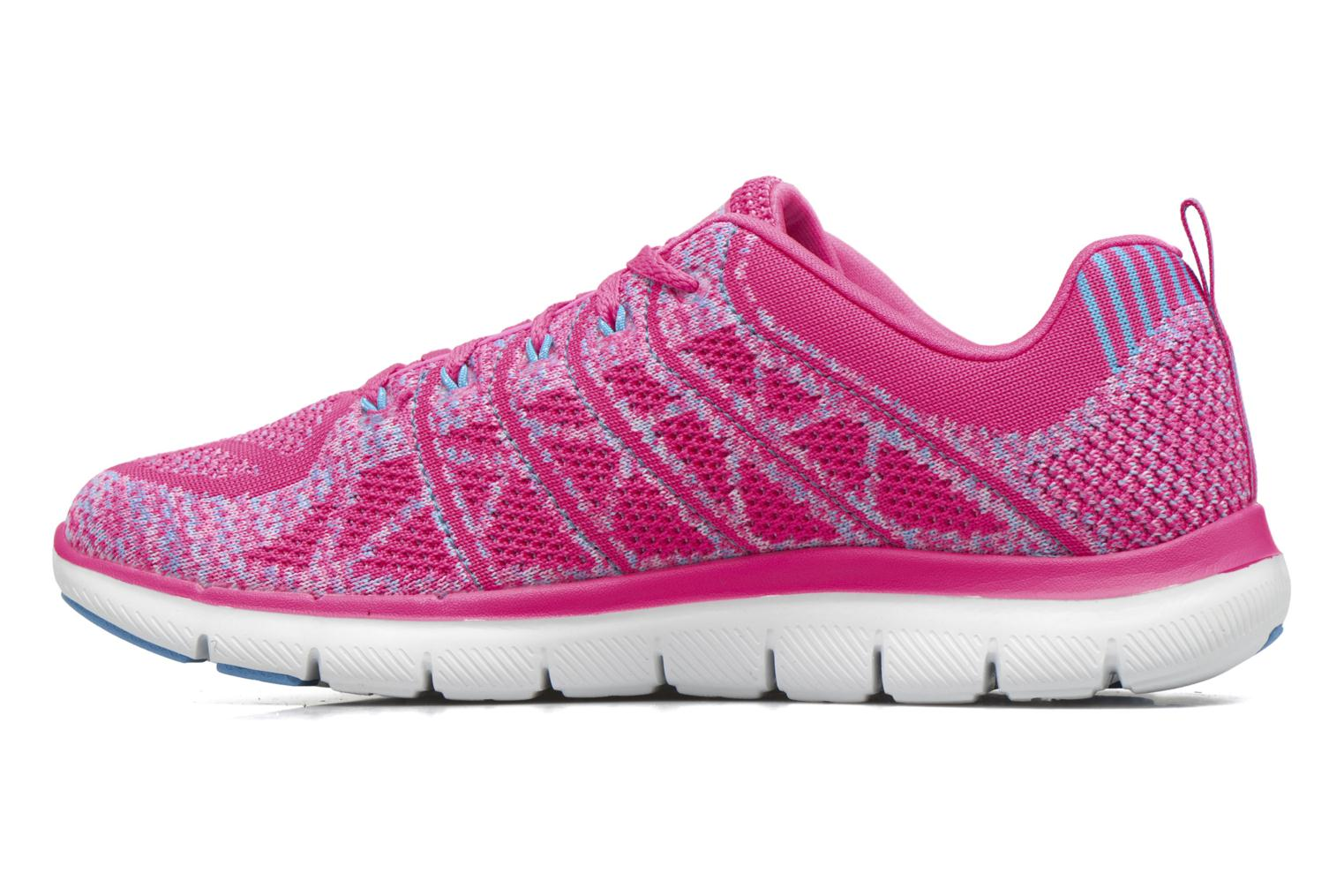 Sport shoes Skechers Flex Appeal 2.0 New Gem Pink front view