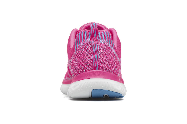 Sportschuhe Skechers Flex Appeal 2.0 New Gem rosa ansicht von rechts