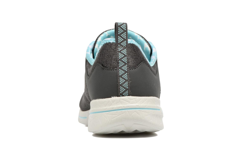 Chaussures de sport Skechers Burst 2.0 Sunny Side Gris vue droite