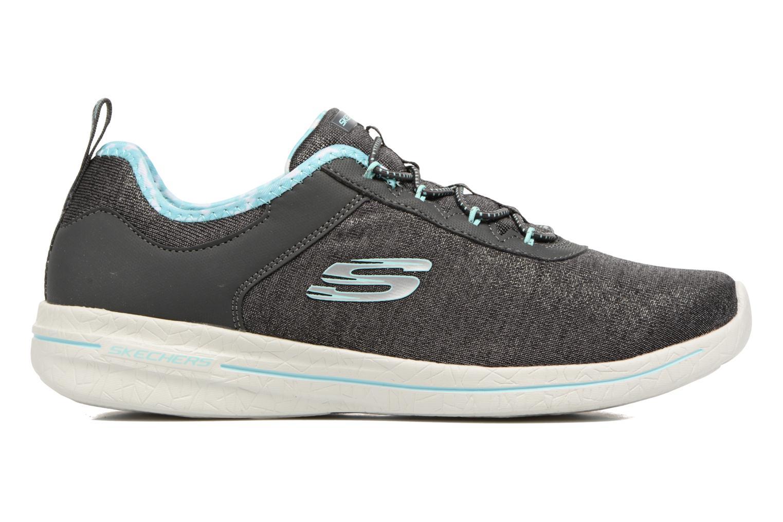 Chaussures de sport Skechers Burst 2.0 Sunny Side Gris vue derrière