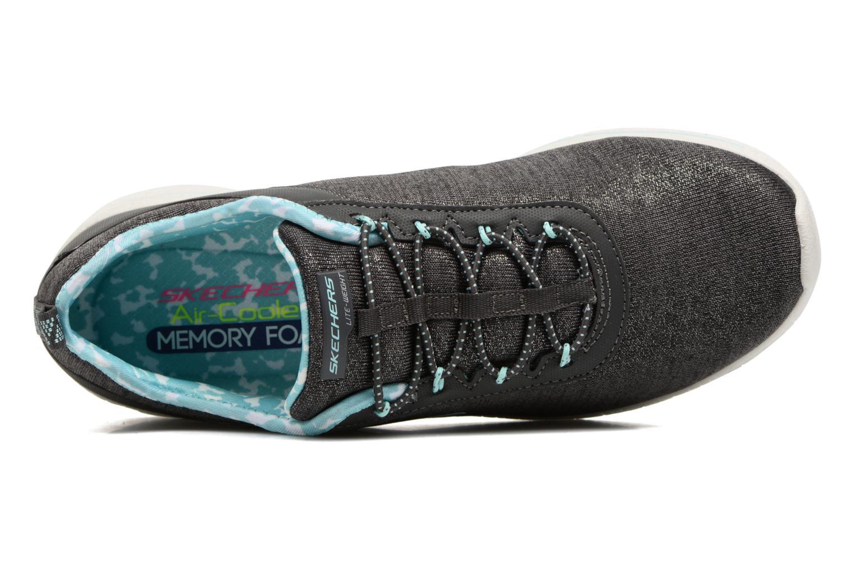 Chaussures de sport Skechers Burst 2.0 Sunny Side Gris vue gauche