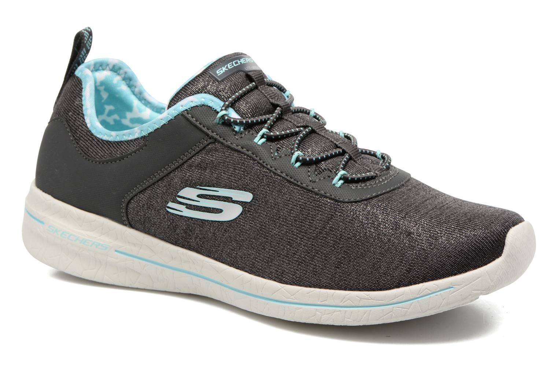 Chaussures de sport Skechers Burst 2.0 Sunny Side Gris vue détail/paire
