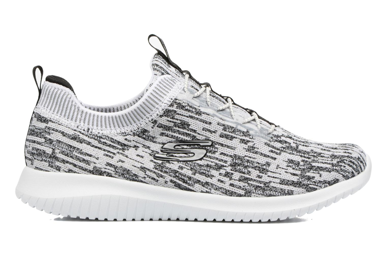 Sport shoes Skechers Ultra Flex Bright Horizon Grey back view
