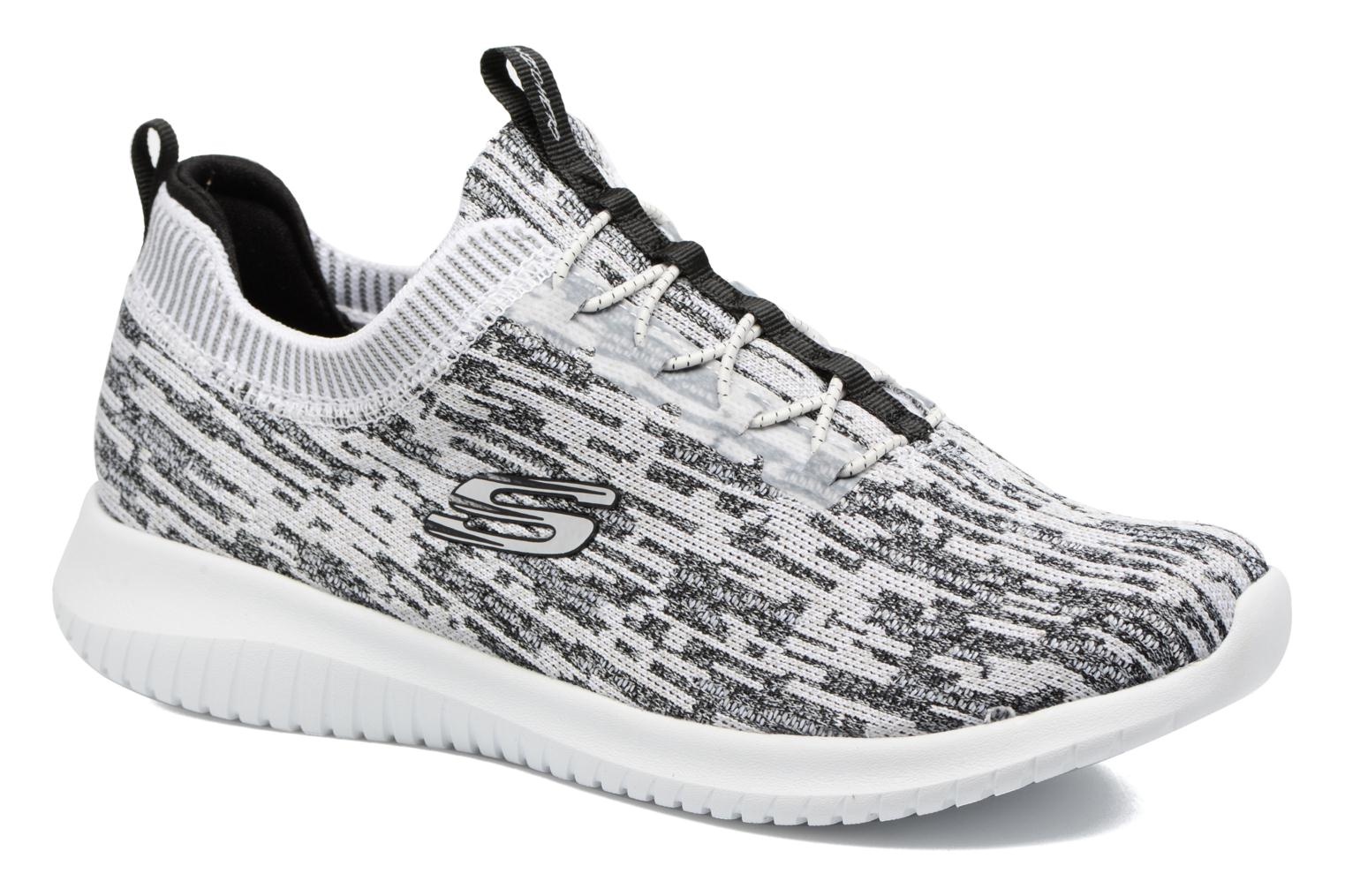 Sport shoes Skechers Ultra Flex Bright Horizon Grey detailed view/ Pair view