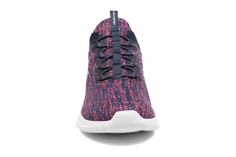 Chaussures de sport Skechers Ultra Flex Bright Horizon Bleu vue portées chaussures