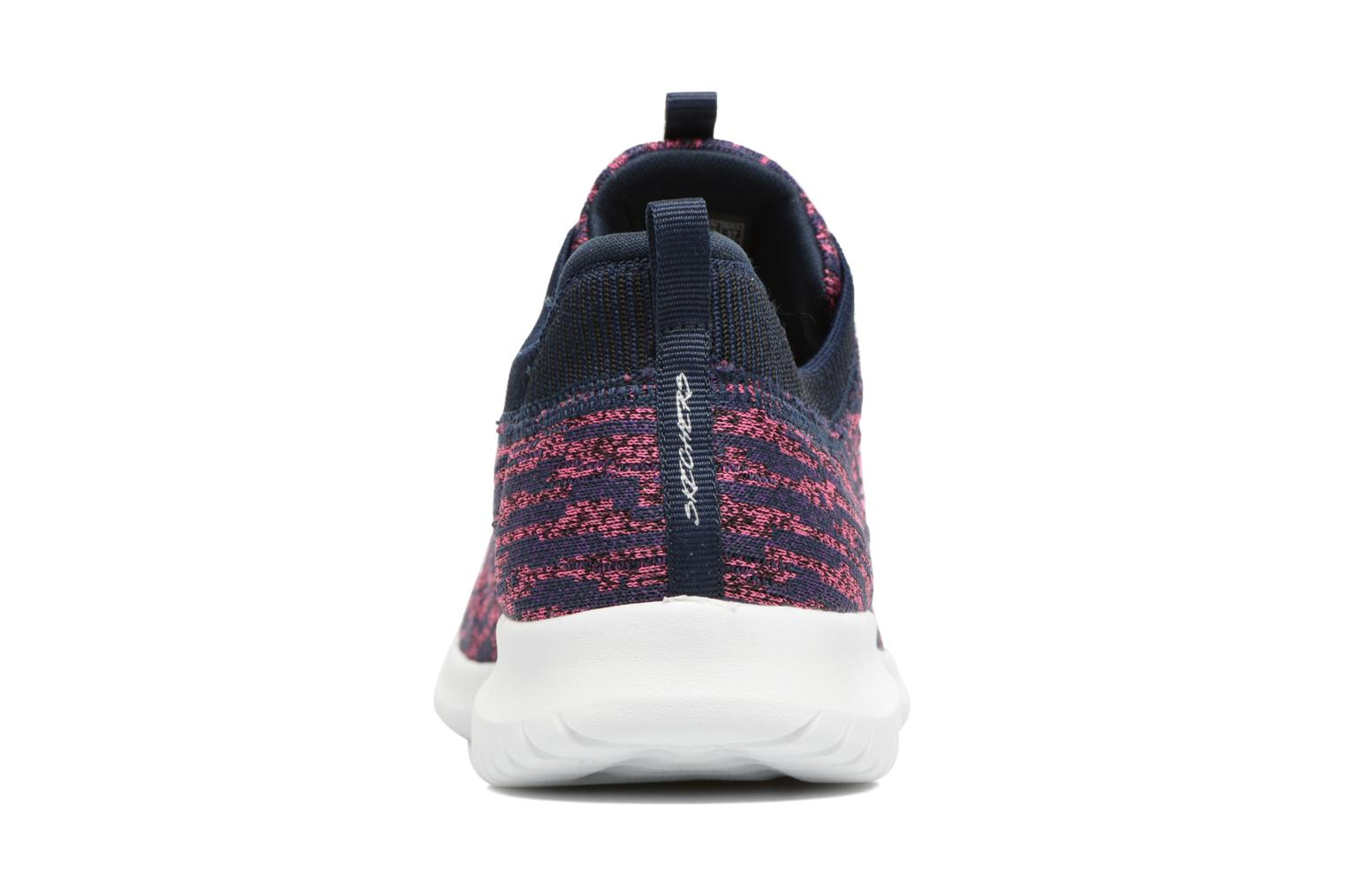 Zapatillas de deporte Skechers Ultra Flex Bright Horizon Azul vista lateral derecha