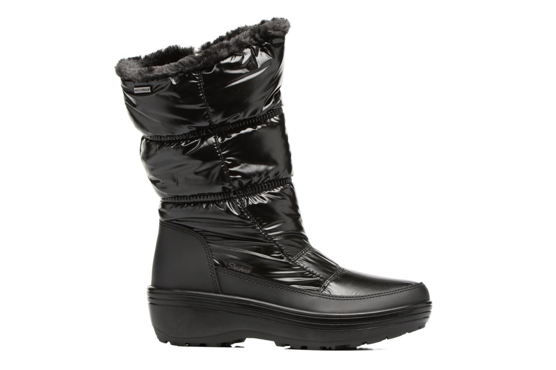 Sport shoes Skechers Alaska Abyss Black back view