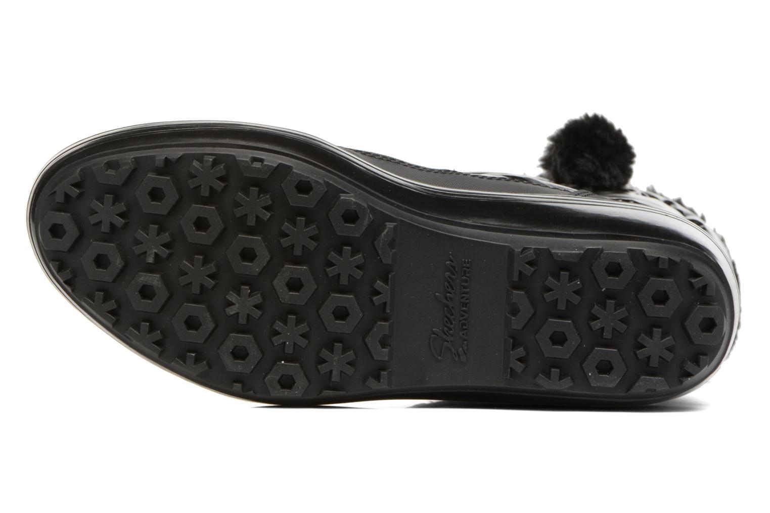 Sport shoes Skechers Alaska Abyss Black view from above
