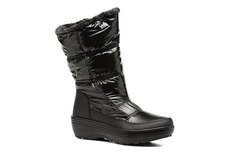 Sportssko Skechers Alaska Abyss Sort detaljeret billede af skoene