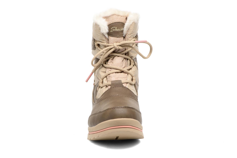 Scarpe sportive Skechers Colorado Castle Rock Marrone modello indossato