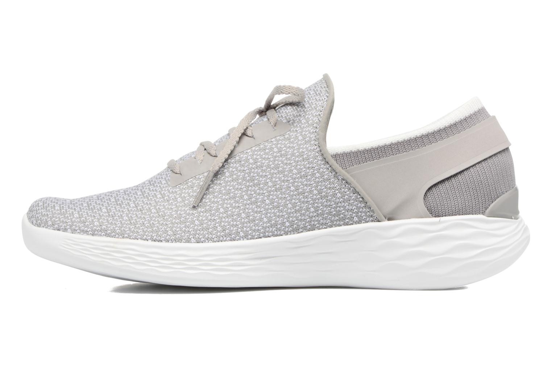 Chaussures de sport Skechers You Inspire Gris vue face