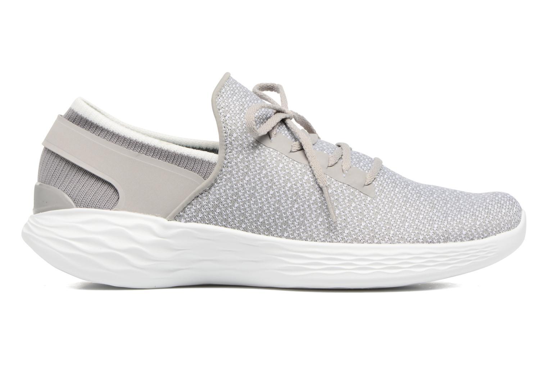 Chaussures de sport Skechers You Inspire Gris vue derrière