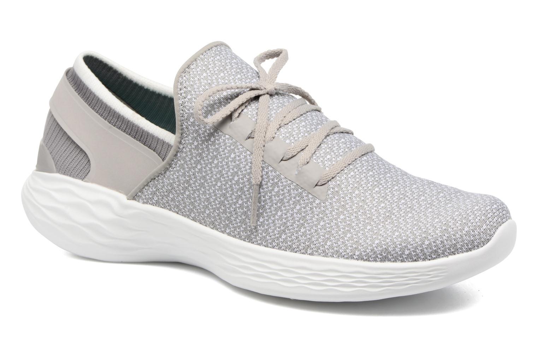 Zapatillas de deporte Skechers You Inspire Gris vista de detalle / par