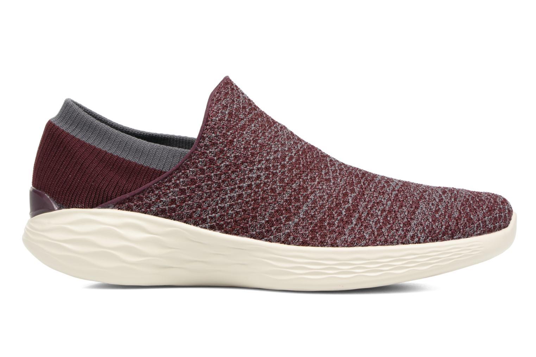Chaussures de sport Skechers You Bordeaux vue derrière
