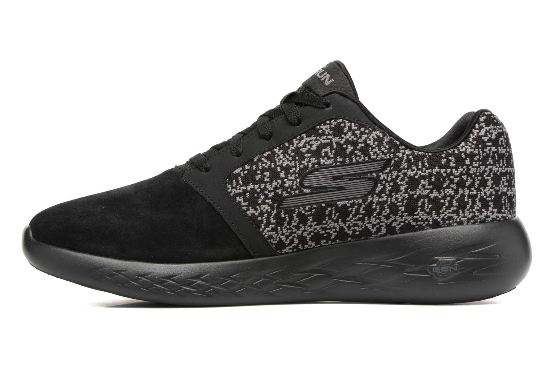 Chaussures de sport Skechers Go run 601 Noir vue face