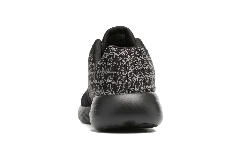 Chaussures de sport Skechers Go run 601 Noir vue droite