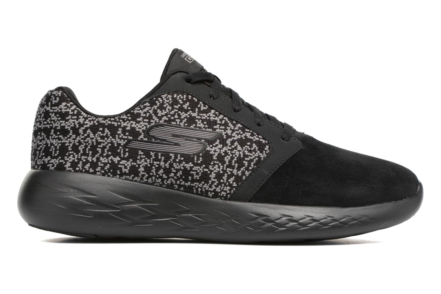 Sport shoes Skechers Go run 601 Black back view