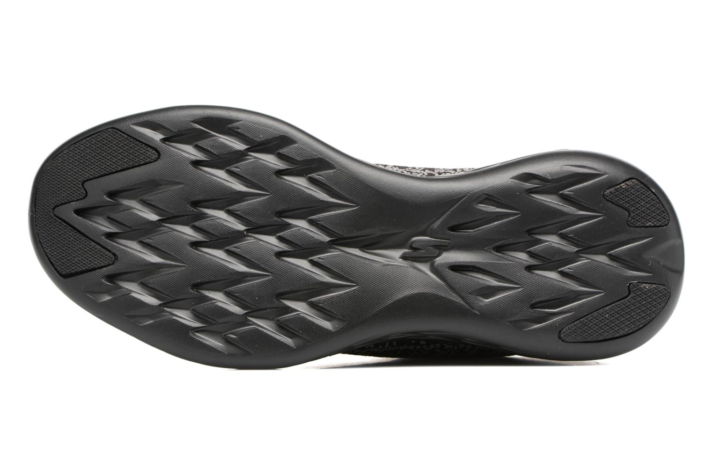 Chaussures de sport Skechers Go run 601 Noir vue haut